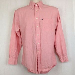Brooks Brothers 346 Small Shirt Pink Mens Button